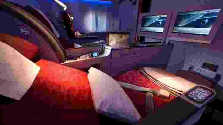 Fla 1 - Divulgação/Qatar Airways - Divulgação/Qatar Airways