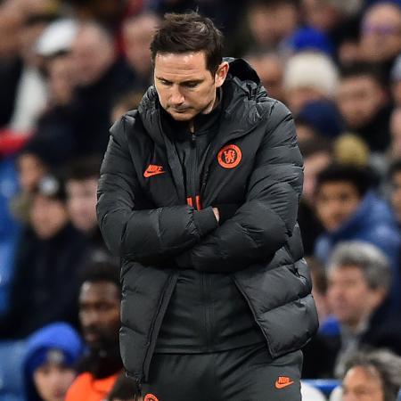 Lampard não gostou do desempenho do time na derrota diante o Leicester - Glyn Kirk/AFP