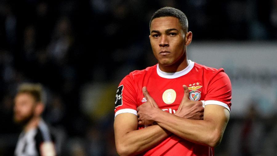 Carlos Vinícius, do Benfica, é o artilheiro do Campeonato Português - Getty Images