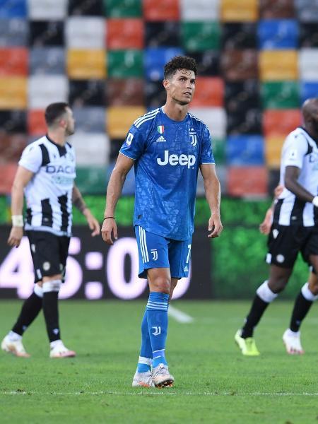 Cristiano Ronaldo será poupado de partida da Juventus contra Roma - REUTERS/Jennifer Lorenzini