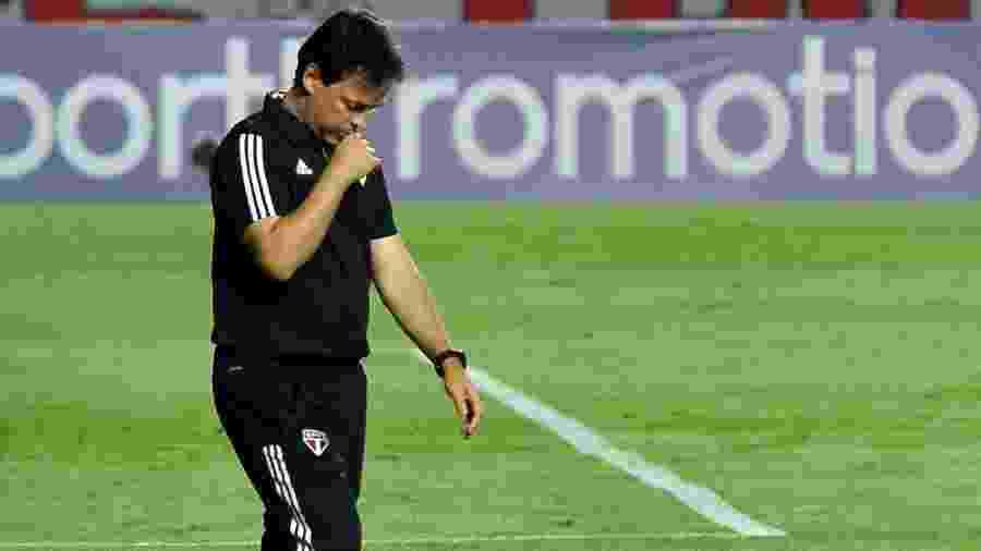Fernando Diniz comanda o São Paulo - Bruno Ulivieri/AGIF