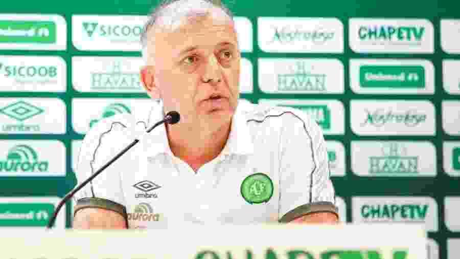 Paulo Magro, presidente da Chapecoense  - Marcio Cunha/Chapecoense