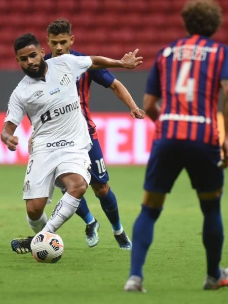 Santos encarou o San Lorenzo em Brasília pela Libertadores e pode voltar para lá -  Ivan Storti/Santos FC