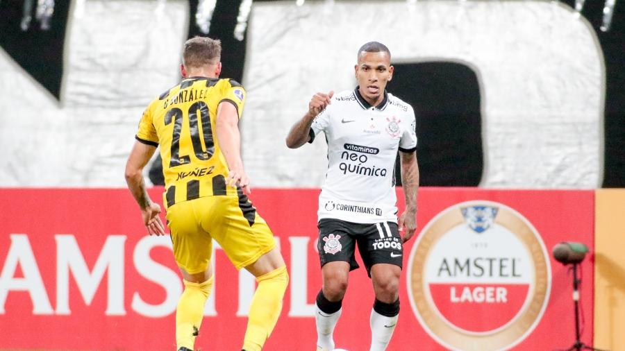 Corinthians enfrentou o Peñarol na Neo Química Arena, no dia 29 de abril, e foi derrotado por 2 a 0 - Rodrigo Coca/ Ag. Corinthians