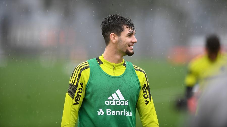 Johnny é aposta de futuro para meio-campo do Inter - Ricardo Duarte/Inter