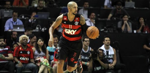 Marquinhos foi o cestinha da partida com 26 pontos, mas não impediu derrota do Fla - Gilvan de Souza/Fla Imagem