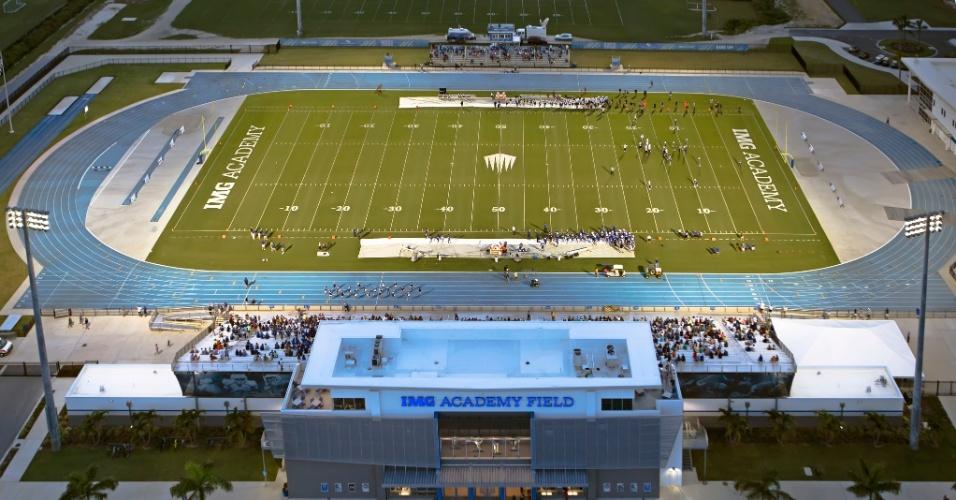 IMG Academy tem até um estádio para cinco mil pessoas