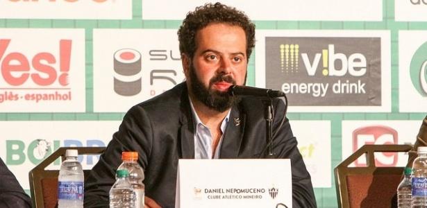 Daniel Nepomuceno, presidente do Atlético-MG, vai ficar no cargo somente até dezembro