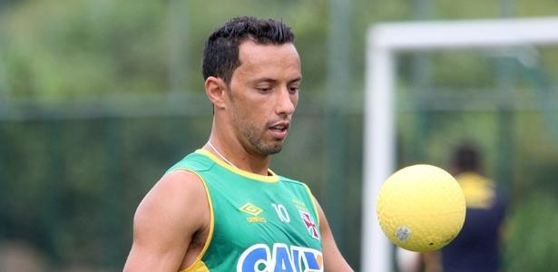 Nenê teve febre, indisposição e foi poupado do treino desta terça no Vasco - Paulo Fernandes / Site oficial do Vasco