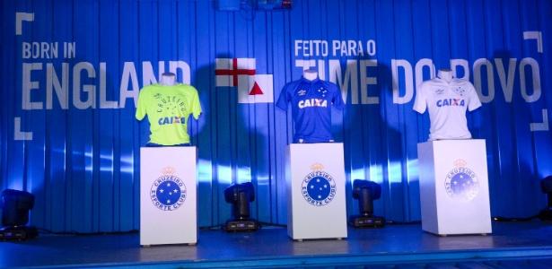 Novo uniforme do Cruzeiro