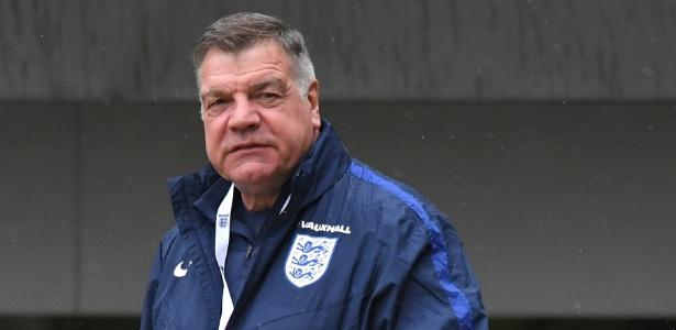 Sam Allardyce não é mais o técnico da Inglaterra