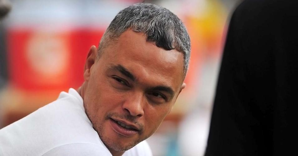Dodô participou de estágio com Dorival Júnior, treinador do Santos