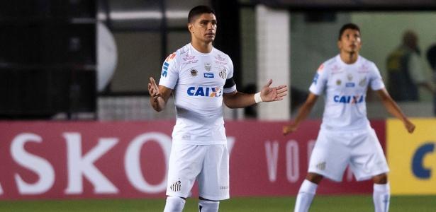 Renato deverá ser substituído por Matheus Jesus - Ivan Storti/ Santos FC