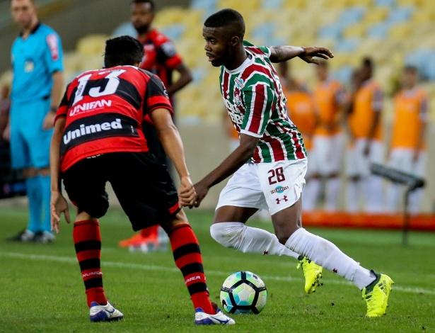 Matheus Alessandro vem entrando nas partidas do time principal