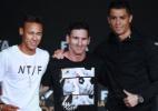 Neymar enfrenta Messi e CR7 como único brasileiro em premiação da Fifa - Olivier Morin/AFP
