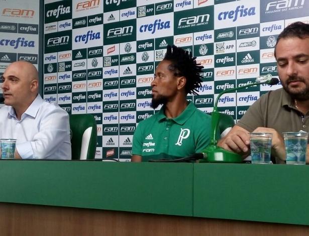 Zé Roberto dividirá a administração do futebol palmeirense com Mattos e Cícero Souza - José Edgar de Matos/UOL