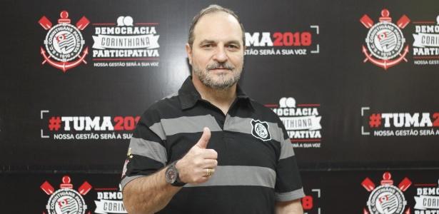Romeu Tuma Júnior é um dos cinco candidatos à presidência do Corinthians