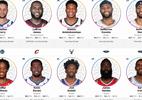 NBA revela titulares do Jogo das Estrelas; LeBron e Curry são capitães