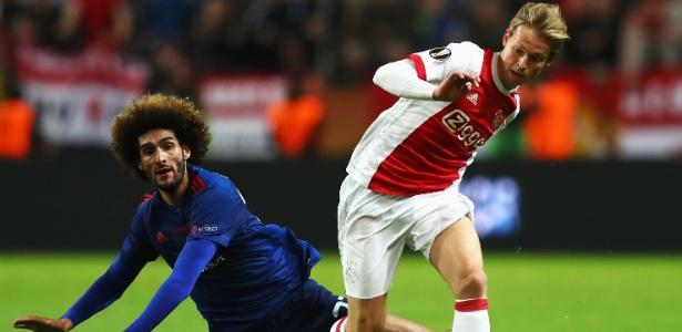 De Jong é um dos nomes mais cobiçados da janela de transferência da Europa - Dean Mouhtaropoulos/Getty Images