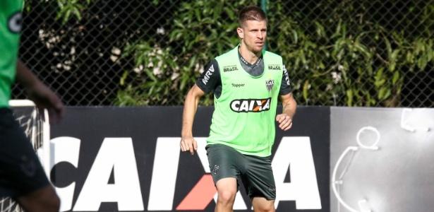 Matheus Galdezani, volante do Atlético-MG, ainda negocia seu futuro no Galo - Bruno Cantini/Divulgação/Atlético-MG