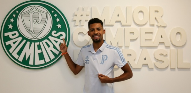 Matheus Fernandes é o terceiro reforço oficializado pelo Palmeiras para 2019 - Palmeiras/Divulgação