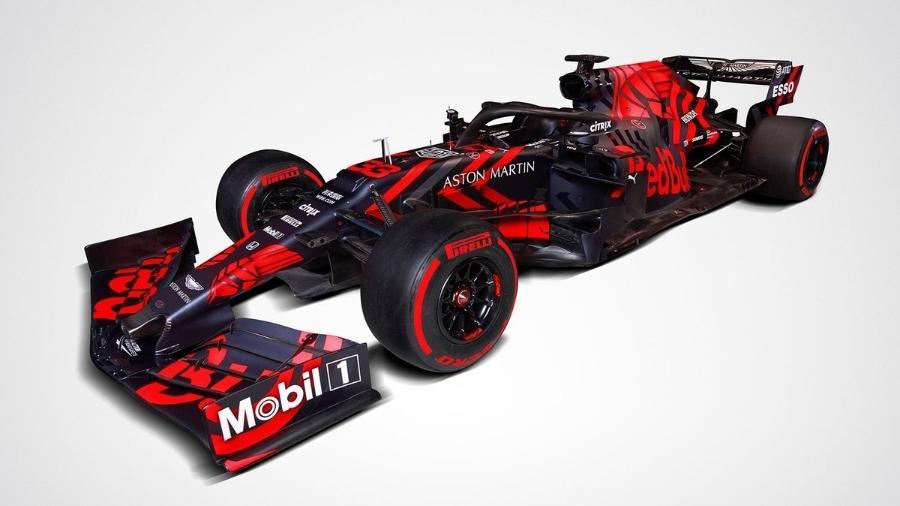 Carro da Red Bull para a temporada 2019 da Fórmula 1 - Divulgação