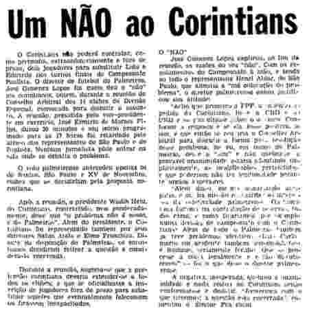 Corinthians - Reprodução - Reprodução