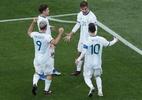 Argentina supera expulsão de Messi e Chile para ficar com o terceiro lugar - Ueslei Marcelino/Reuters