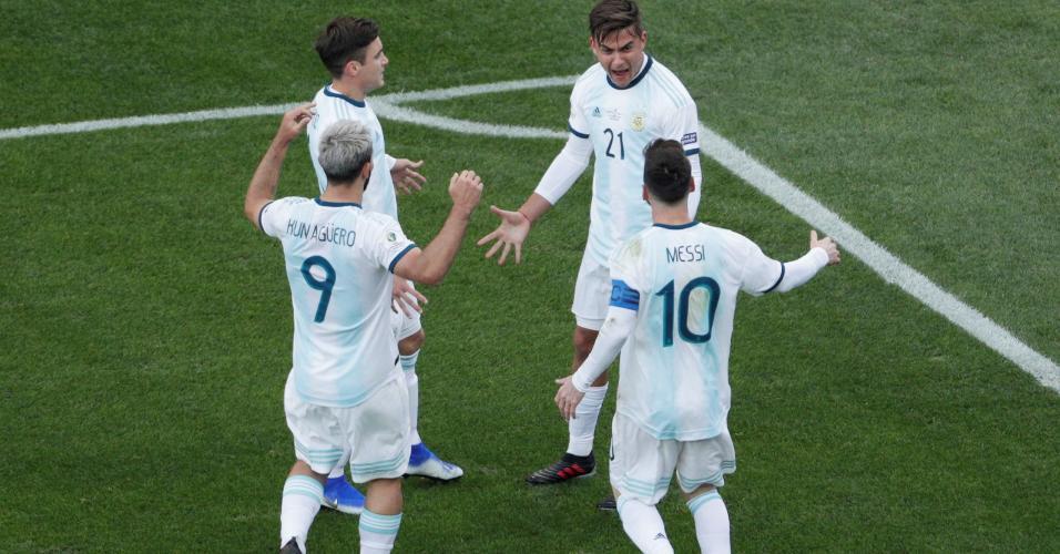 Argentina conquistou o terceiro lugar da Copa América