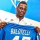 Balotelli comenta post de Gabigol e quer parceria com o brasileiro
