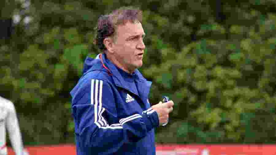 Técnico Cuca comanda treino do São Paulo no CT da Barra Funda - Érico Leonan / saopaulofc.net