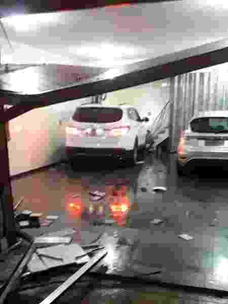 Acidente com carro de Ralf em São Paulo - Reprodução