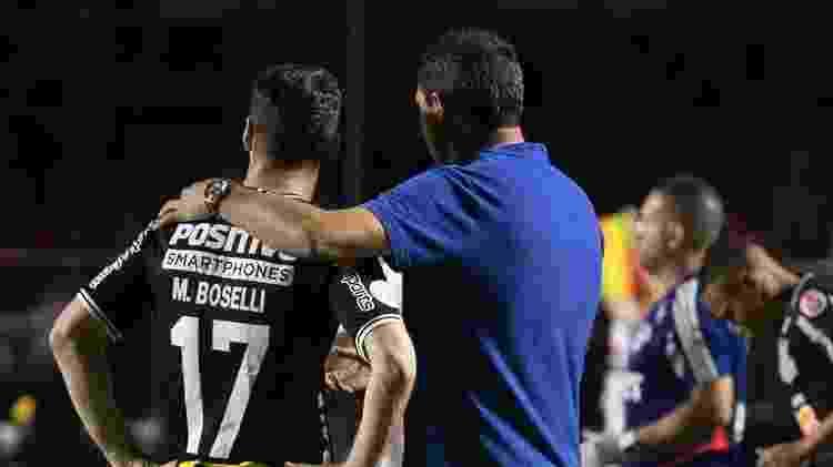 Boselli reclamou que o funcionamento do time faz com que ele tenha poucas chances de fazer gol - Daniel Augusto Jr./Agência Corinthians