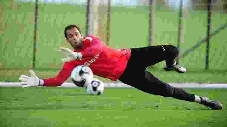 Goleiro Muriel, hoje do Fluminense, é cria das categorias de base do Internacional - Ricardo Duarte/SC Internacional - Ricardo Duarte/SC Internacional