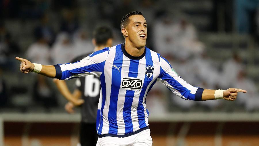 Funes Mori comemora gol do Monterrey sobre o Al Sadd no Mundial de Clubes  - REUTERS/Corinna Kern