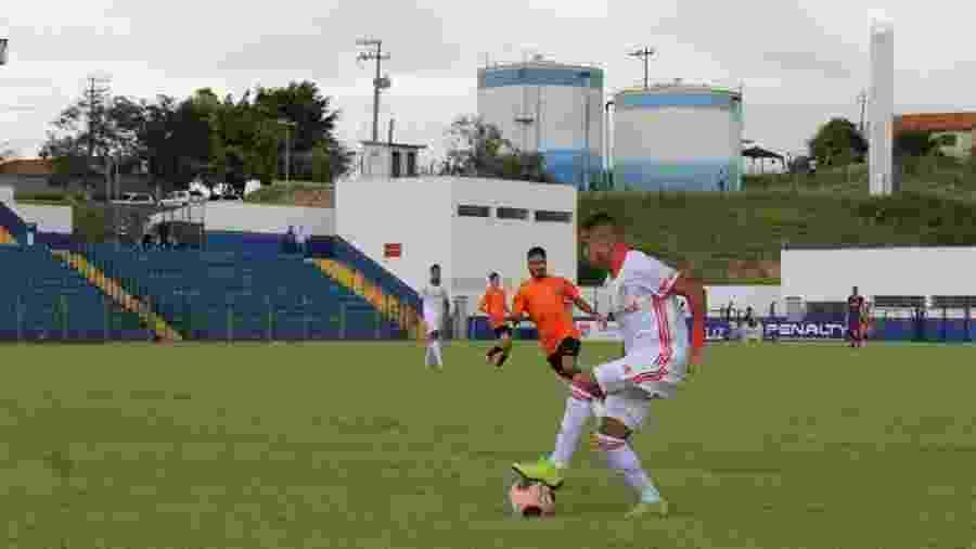 Internacional e Desportivo Brasil fizeram jogo eliminatório na cidade de Porto Feliz - Leonardo Fister/Internacional