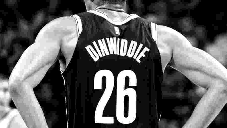 Spencer Dinwiddie, do Brooklyn Nets, trocou o número 8 de sua camisa pelo 26 - Reprodução/Facebook/BrooklynNets