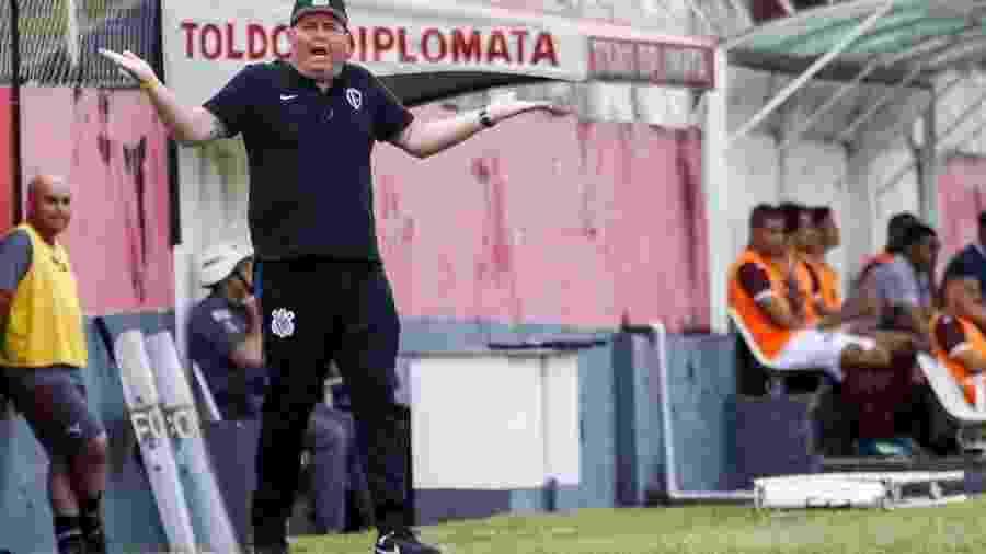 Após diversos títulos no Santos, Marcelo Fernandes é auxiliar na categoria sub-23 do Corinthians - Rodrigo Gazzanel/Agência Corinthians