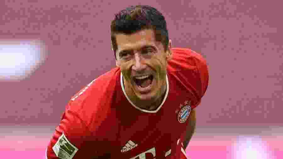 Com 11 gols no Campeonato Alemão, Lewandowski já desponta como favorito na Chuteira de Ouro - Getty Images