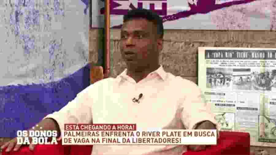 Edílson diz que River não tem condições de reverter vitória do Palmeiras - Reprodução/Band