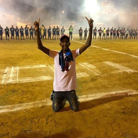 """Ney Silva, o """"Galvão da Várzea"""", tem mais de 600 mil seguidores no Instagram - Arquivo Pessoal"""
