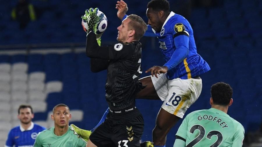 Brighton e Everton empatam em 0 a 0 no Campeonato Inglês - Glyn KIRK / POOL / AFP