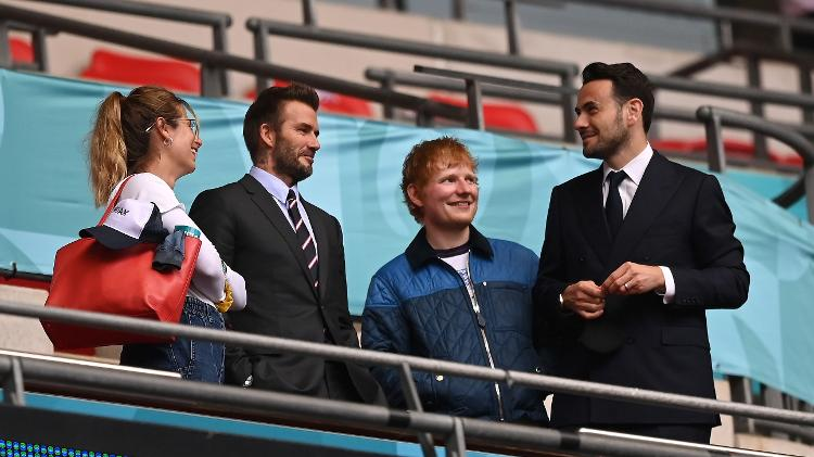 Beckham Ed Sheeran - Shaun Botterill - UEFA/UEFA via Getty Images - Shaun Botterill - UEFA/UEFA via Getty Images