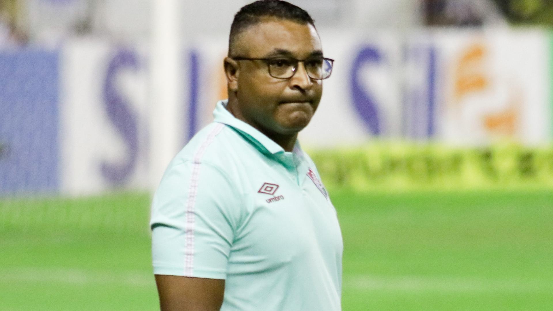 Roger Machado, técnico do Fluminense, durante partida contra o Sport, na Ilha do Retiro, pelo Brasileirão 2021