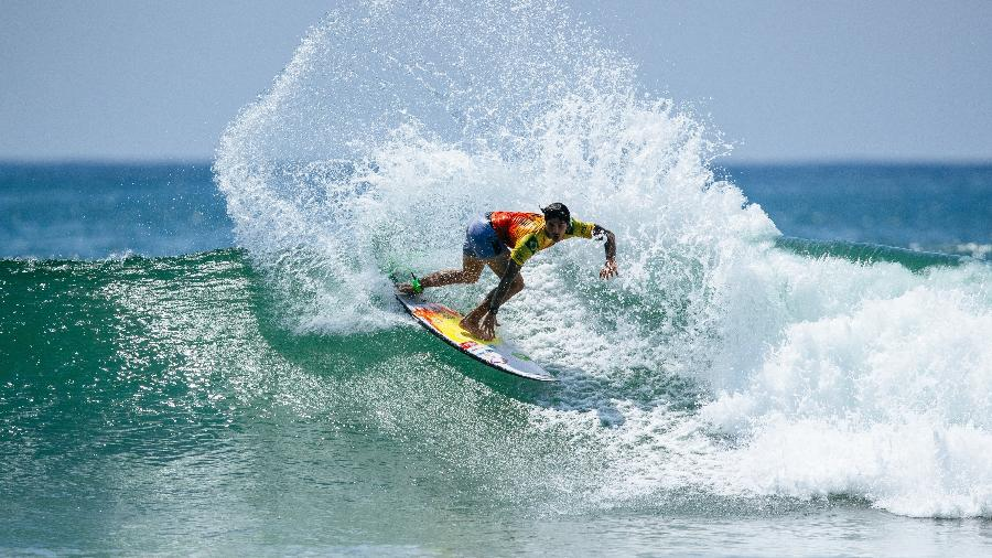 Gabriel Medina, surfista brasileiro, durante etapa do México do Circuito Mundial de Surfe - Divulgação/WSL