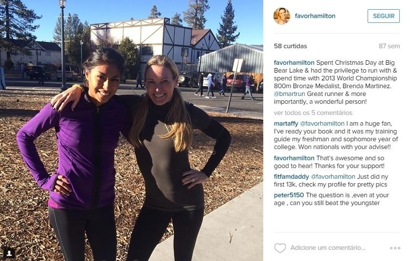 Suzy Favor Hamilton disputou três Olimpíadas no atletismo e admitiu ter trabalhado como prostituta em Las Vegas