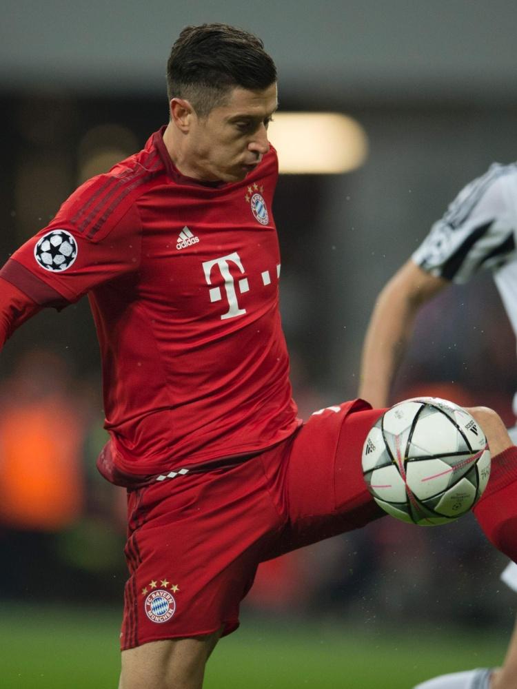 Lewandowski teve atuação discreta contra a Juventus pela Liga dos Campeões