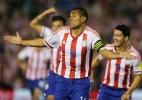 Paraguai marca duas vezes em três minutos e vence o Chile - REUTERS/Mario Valdez