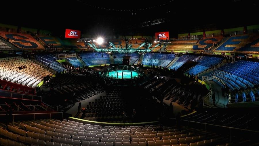 Octógono do UFC São Paulo - UFC/Divulgação