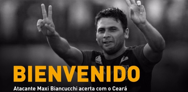 Maxi Biancucchi é o novo reforço do Ceará